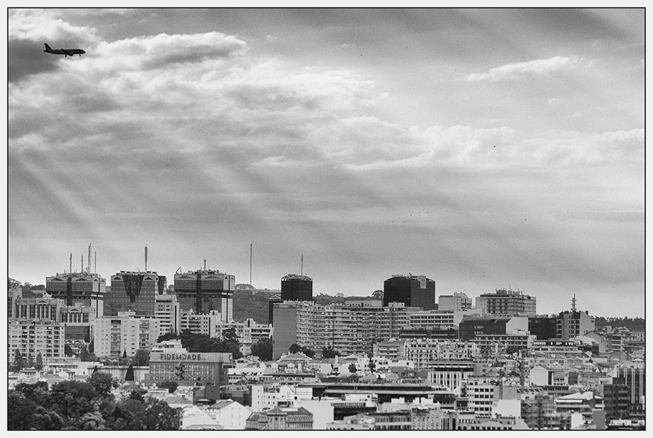 """Approaching Lisbon"""