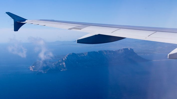 Approaching Olbia, Sardegna
