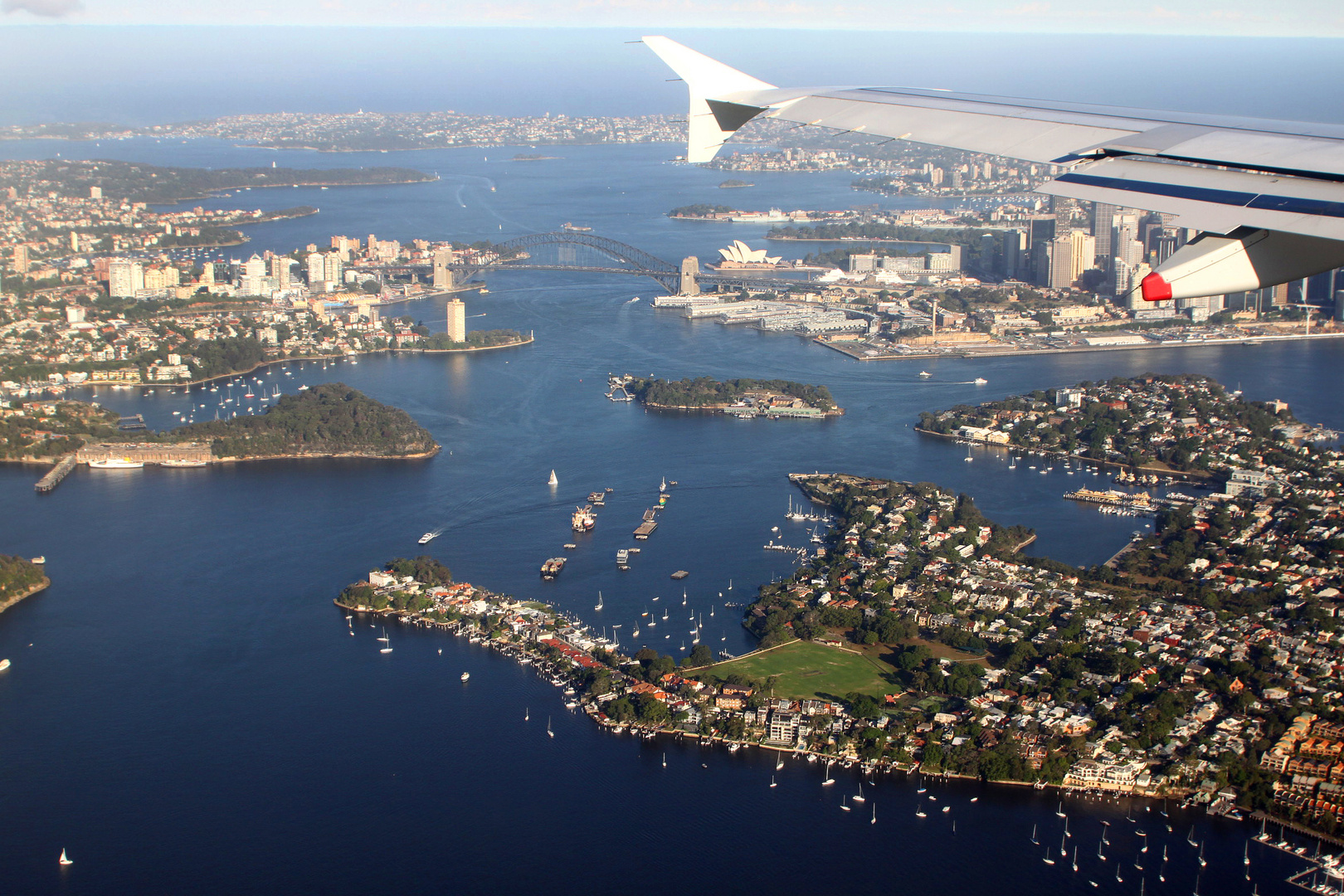 Approaching Sydney Australia