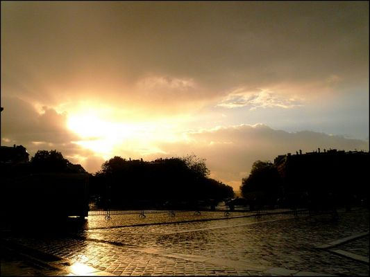 Après la pluie le beau temps ...