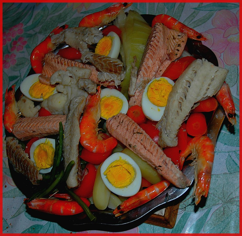 Aprés les fêtes mangeons léger, sauce avec modération! BONNE ANNEE 2009