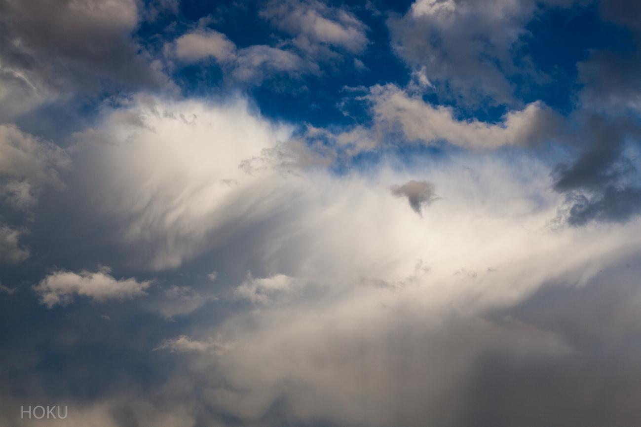 April - Himmel