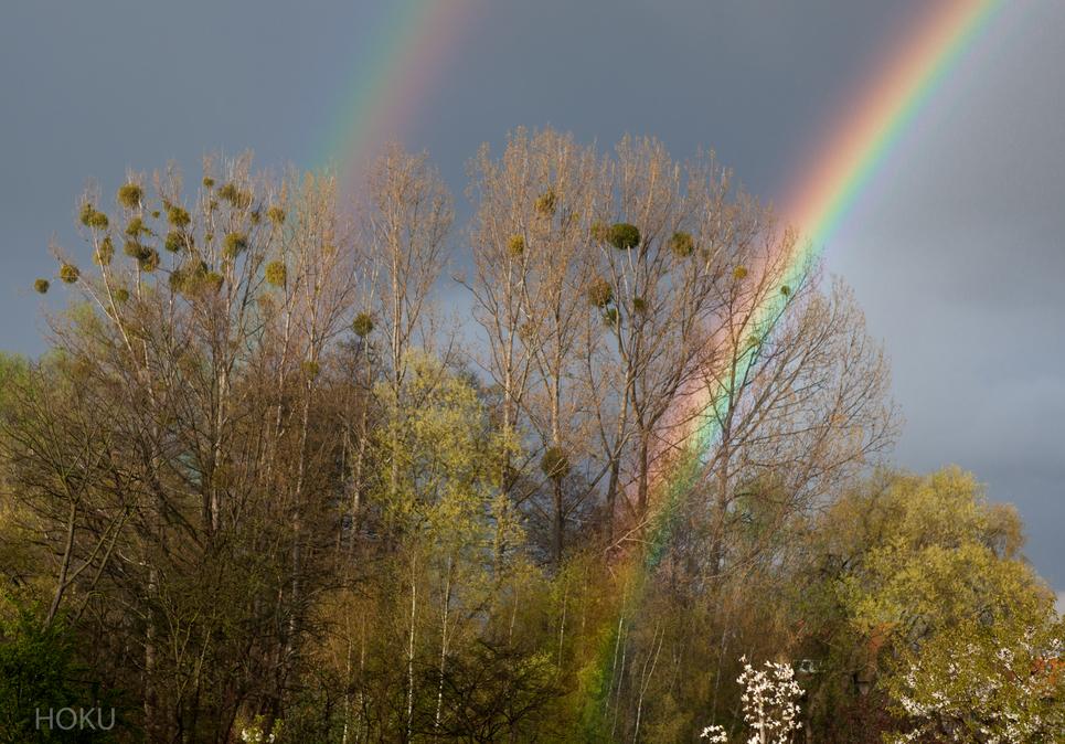 April - Regenbogen