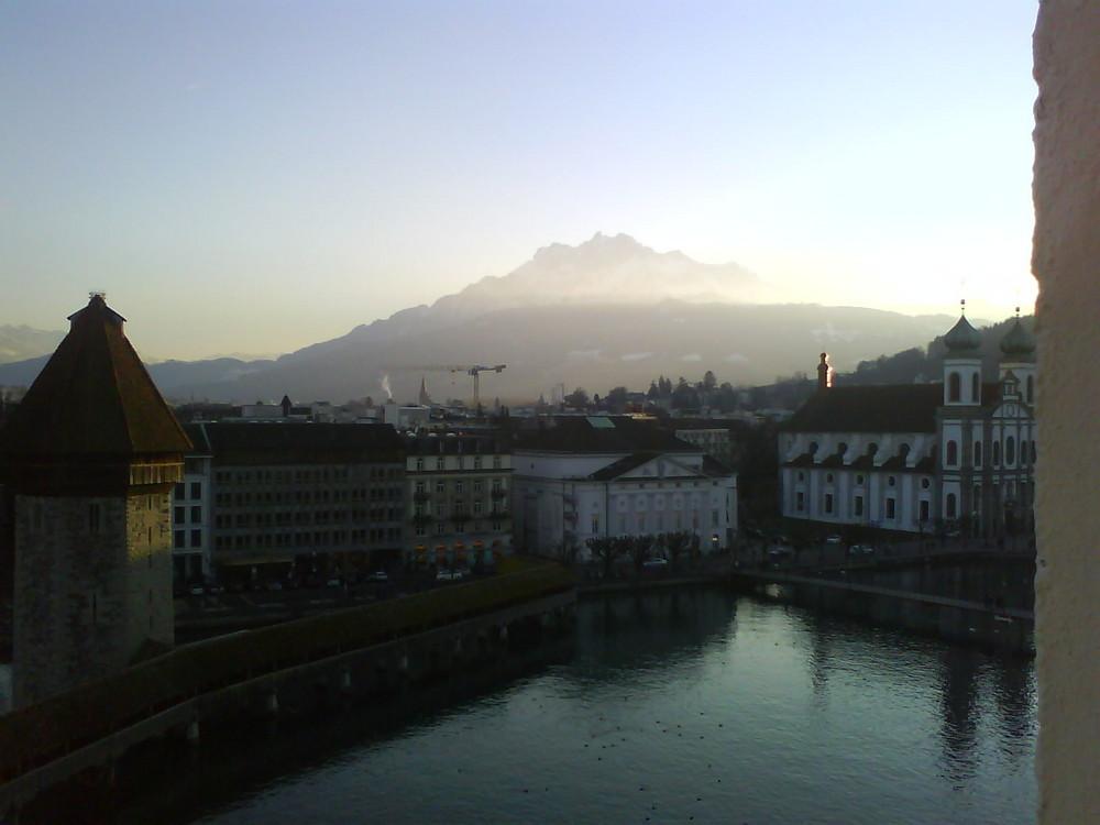 Aprilmorgen in Luzern