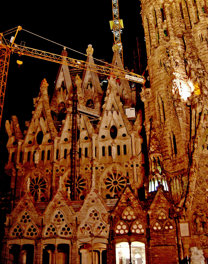 Apse Façade of the Sagrada Família, Barcelona