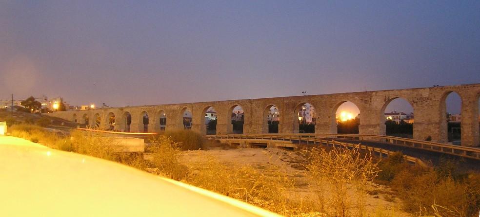 Aquädukt bei Larnaka