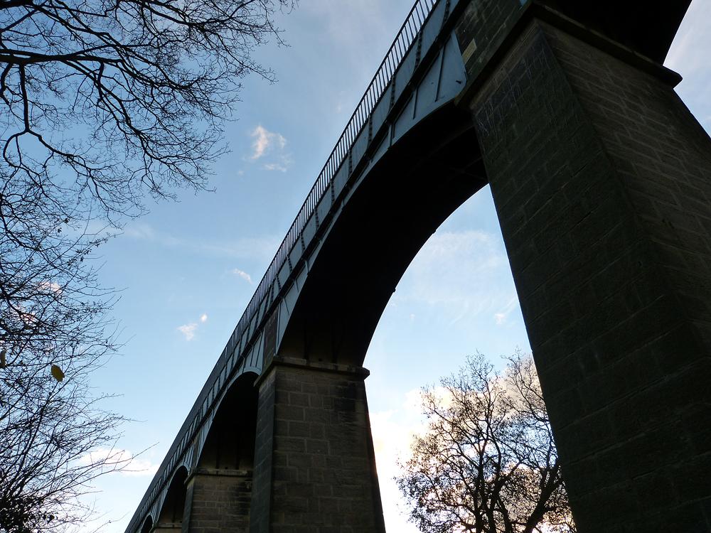 Aquädukt bei Llangollen