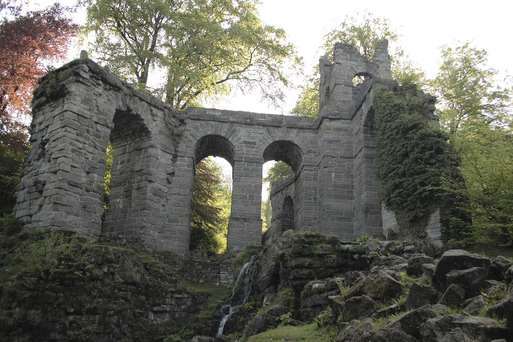 Aquädukt, das Wasser kommt später