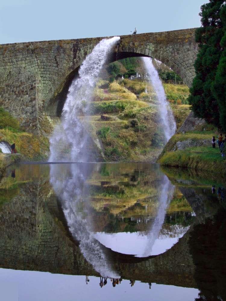Aquädukt in Kumamoto, Japan