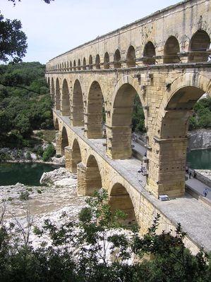 Aqueduc romain du pOnt du GARD