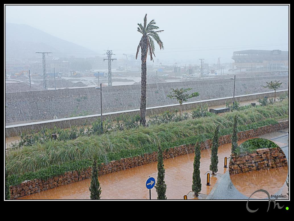 Aquí no llueve... jarrea