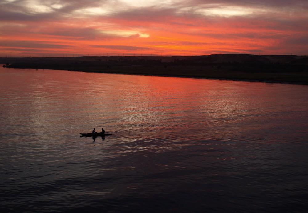 Arabische Sonnenuntergänge I - Der Himmel brennt