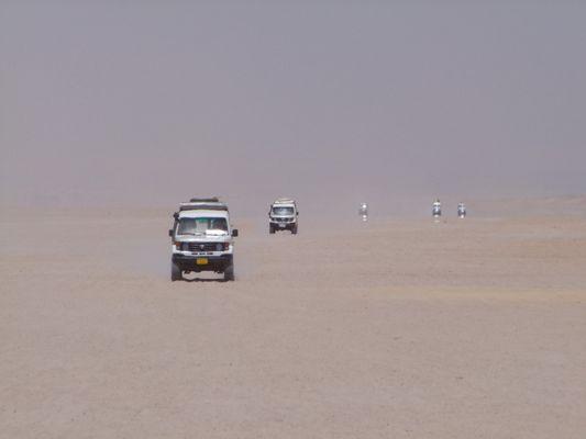 Arabische Wüste bei Hurghada
