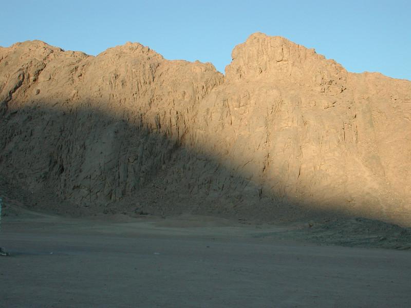 Arabische Wüste in der Nähe von Hurghada