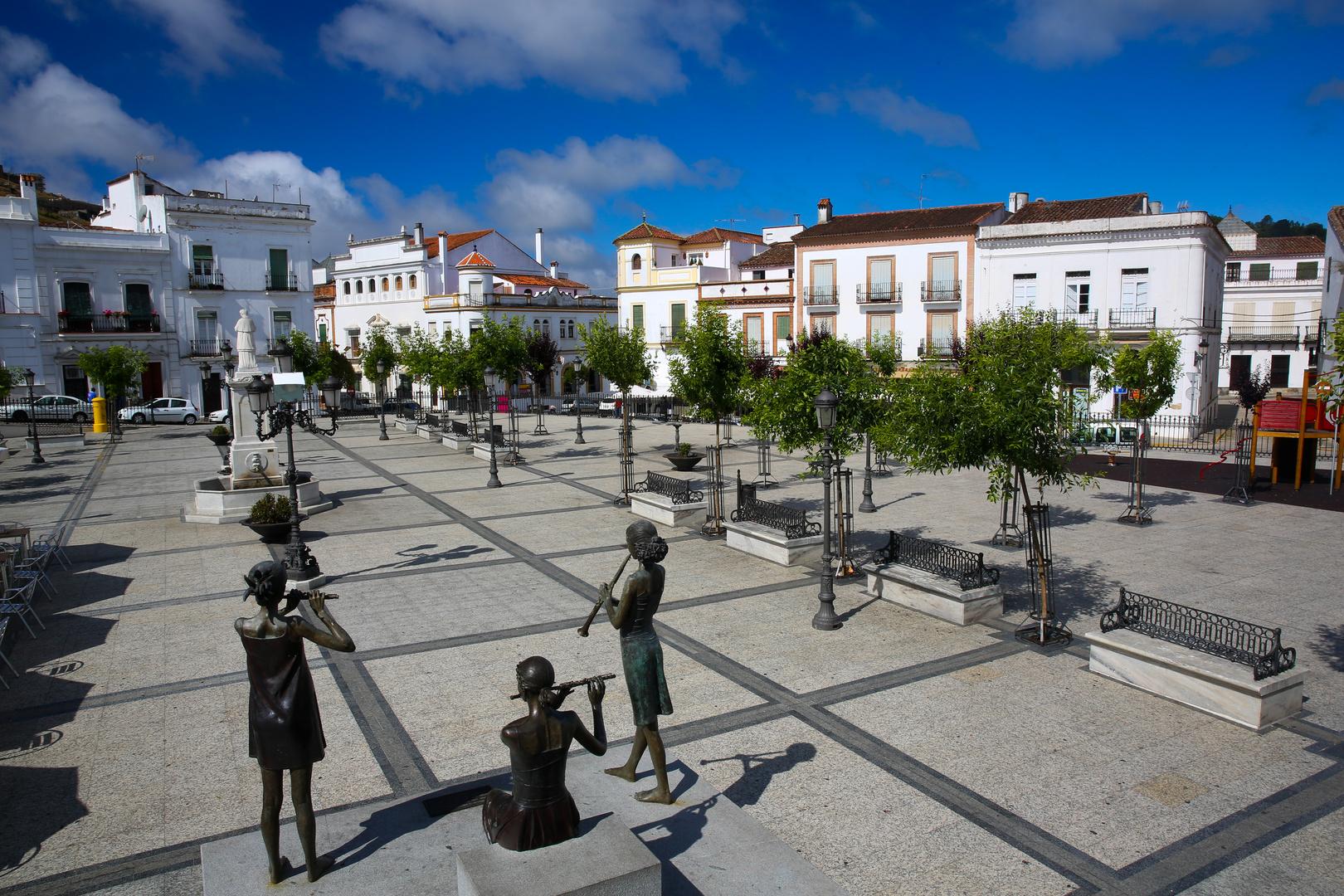 Aracena Marktplatz