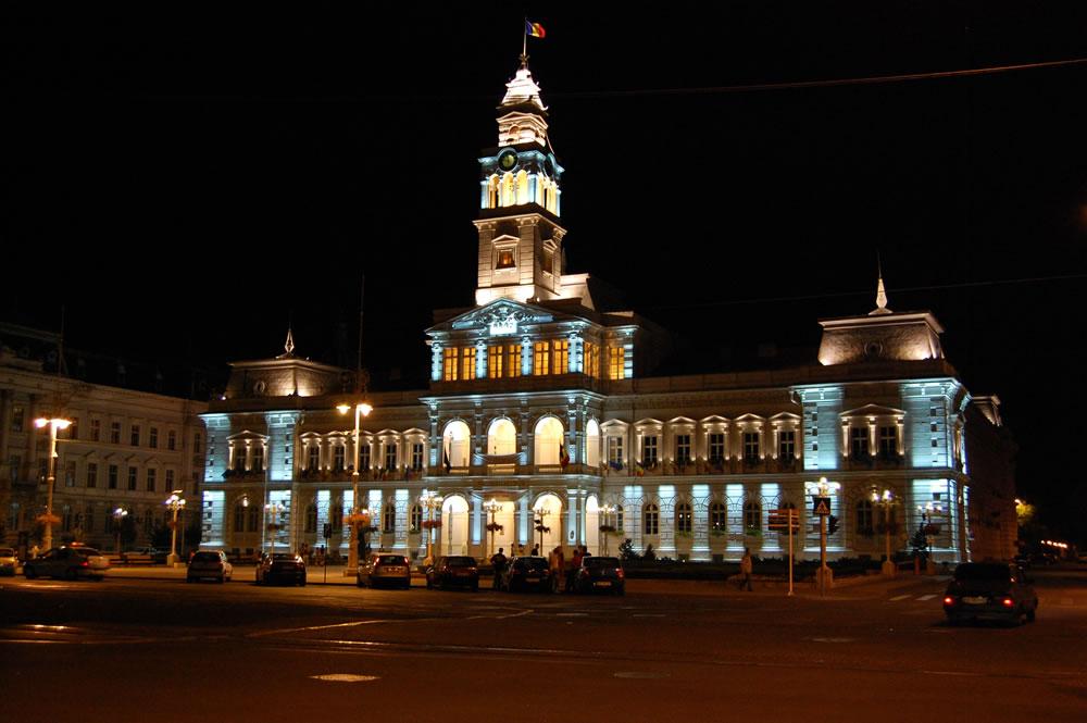 Arad-Rumänien Rathaus