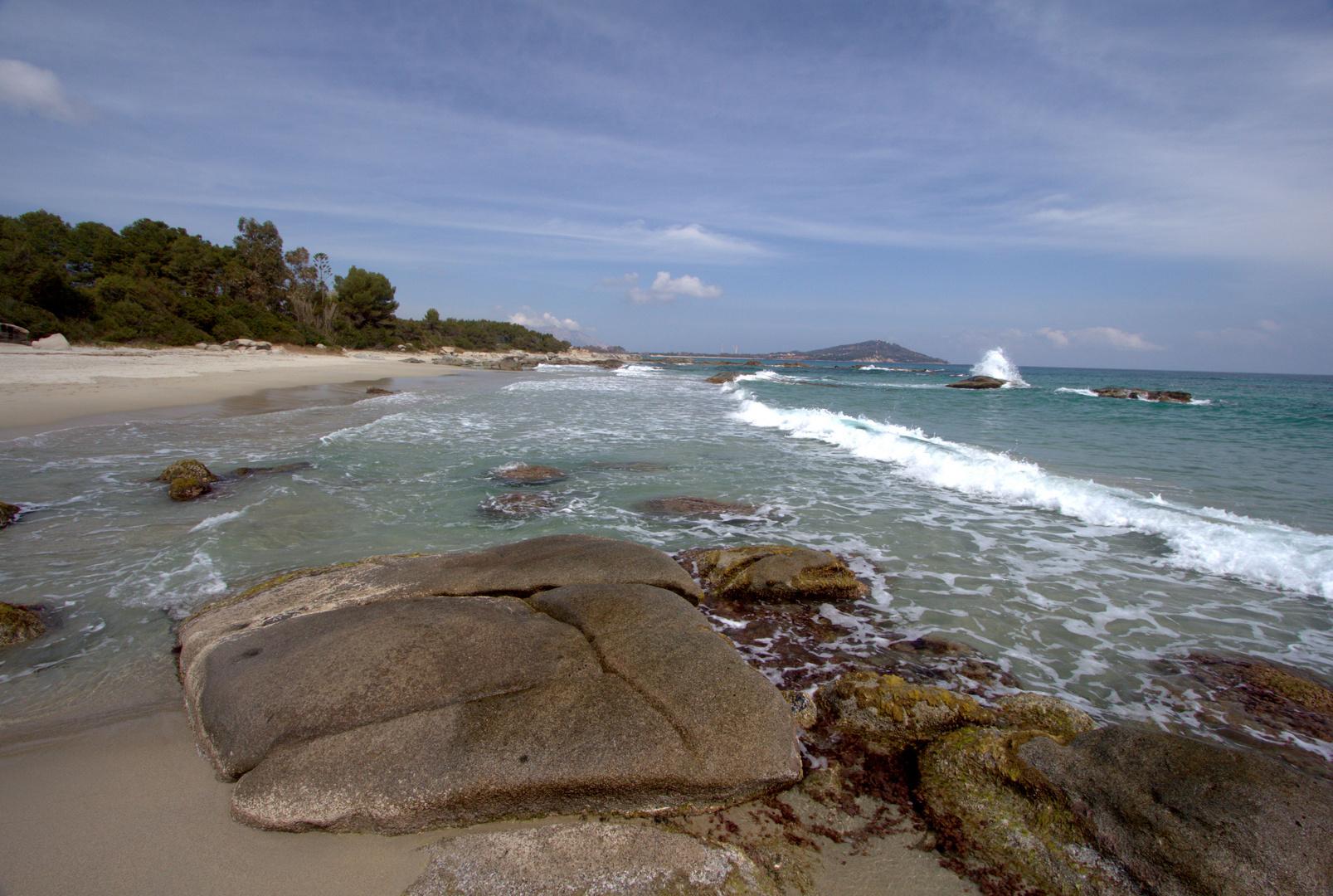Arbatax. Capo bella vista, Sardinien