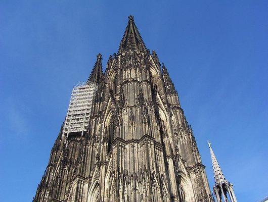 Arbeiten am Kölner Dom