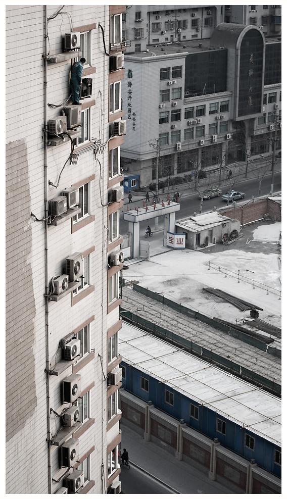 Arbeiten in Shanghai kann gefährlich sein