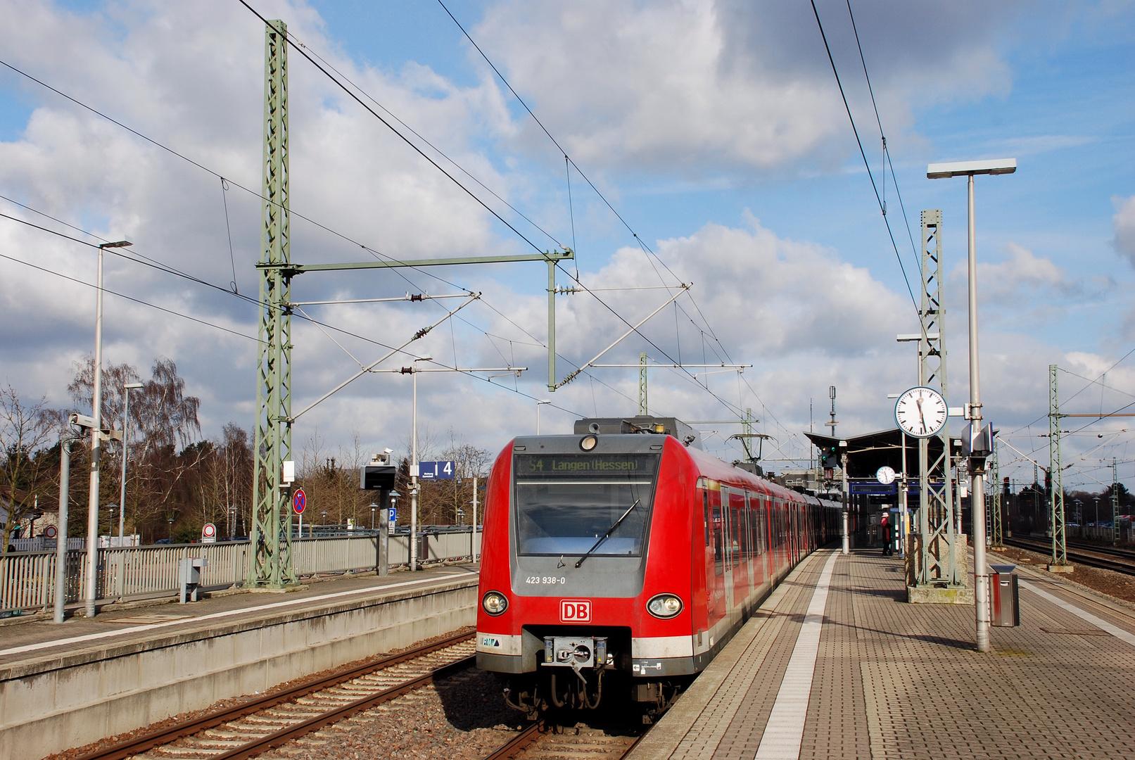 Arbeitsgerät bei der S-Bahn