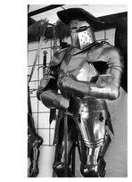 Arbeitskleidung für mittelalterliches Wachpersonal