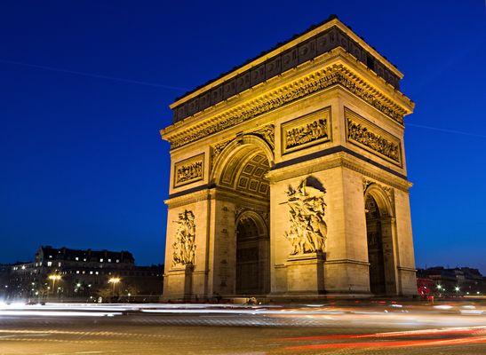 arc de triomphe bei Nacht (v1)