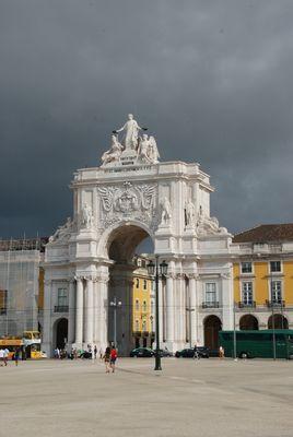 Arc de Triomphe - Place du Commerce - Lisbonne