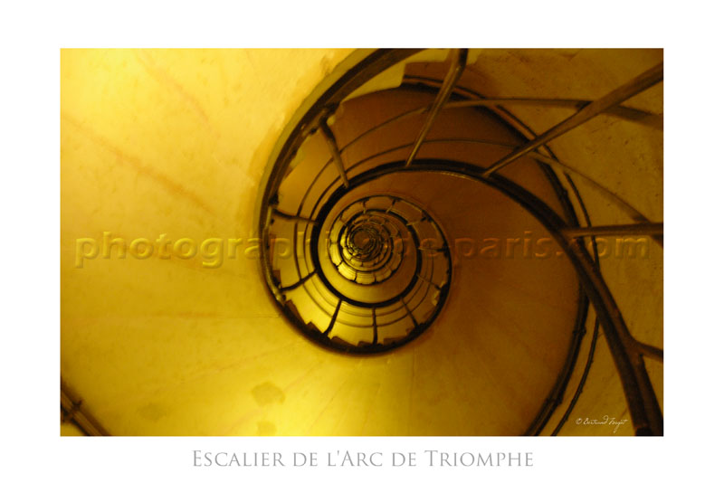 Arc de Triomphe Stairs