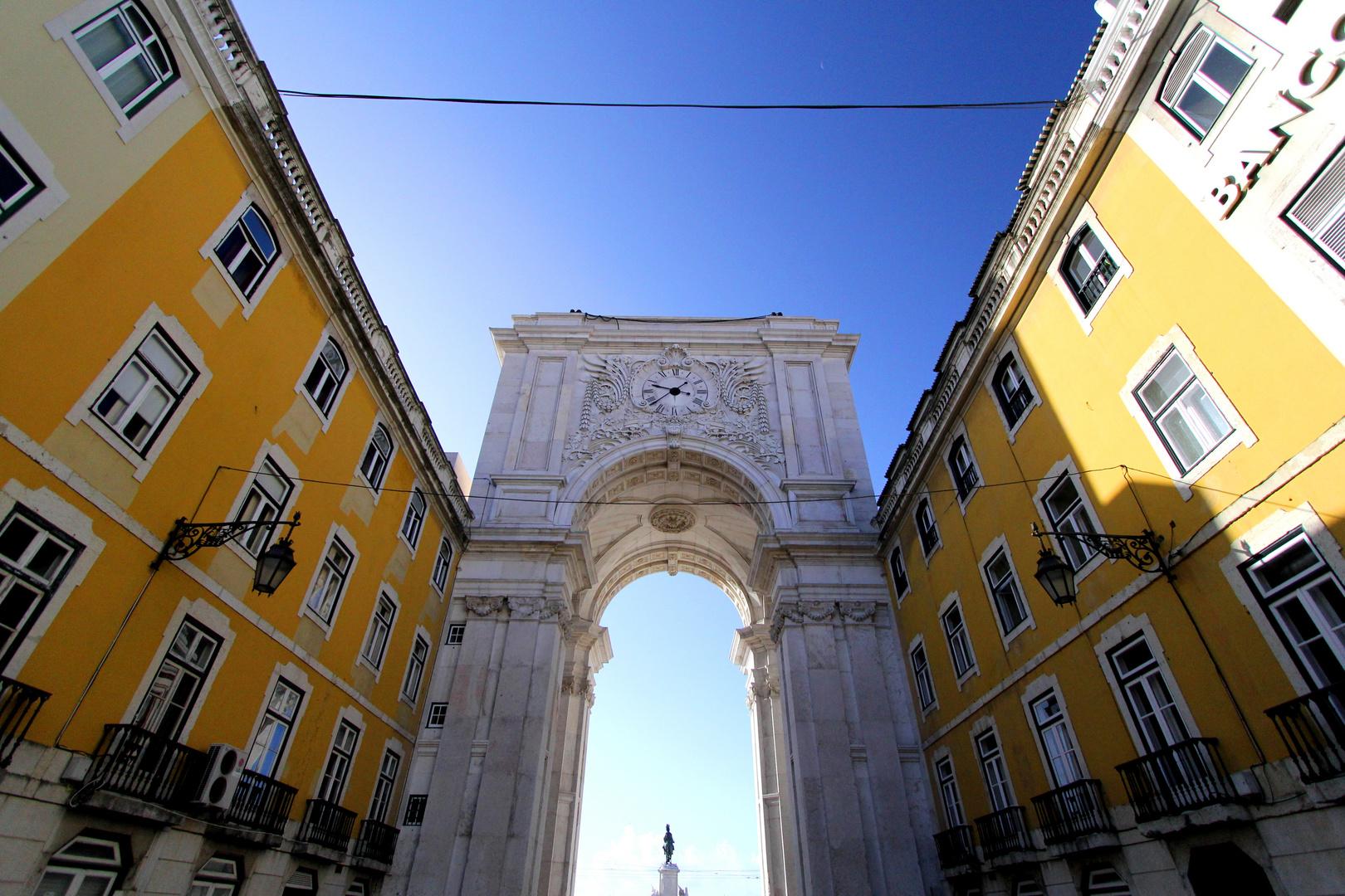 Arc de Triomphe von Lissabon