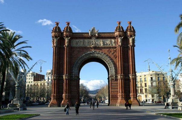 Arc de Triumpf in Barcelona