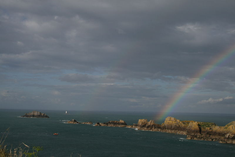 arc en ciel (pointe du grouin