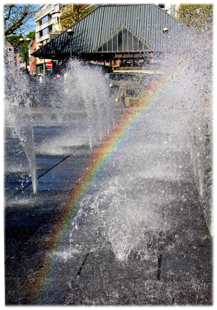 Arc en fontaine