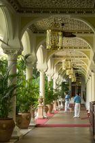 Arcades de l'Hôtel Taj Mahal à Bombay