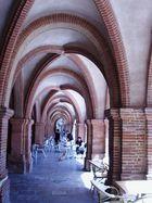 Arcades roses à Montauban