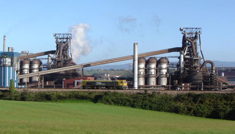 Arcelor-Mittal Blast furnaces, Gijón - Asturias- northern Spain