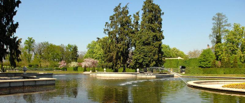 Arcen - der Schloßpark