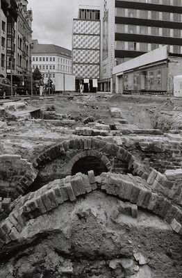 archäologische Ausgrabung am Brühl, Leipzig