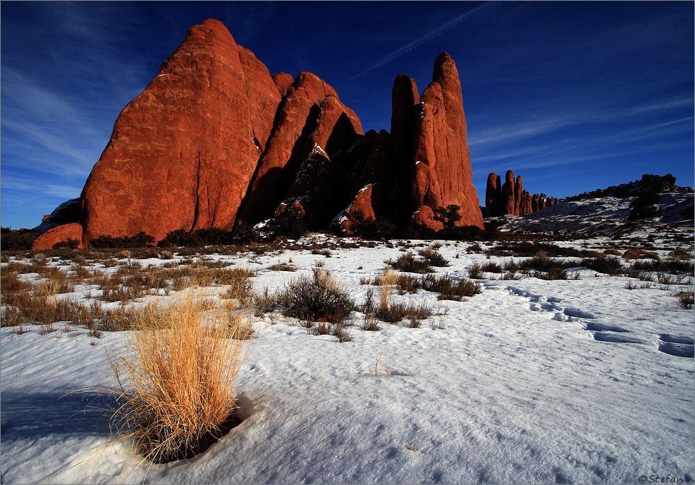 Arches National Park @ Winter