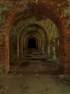 arches to the open door