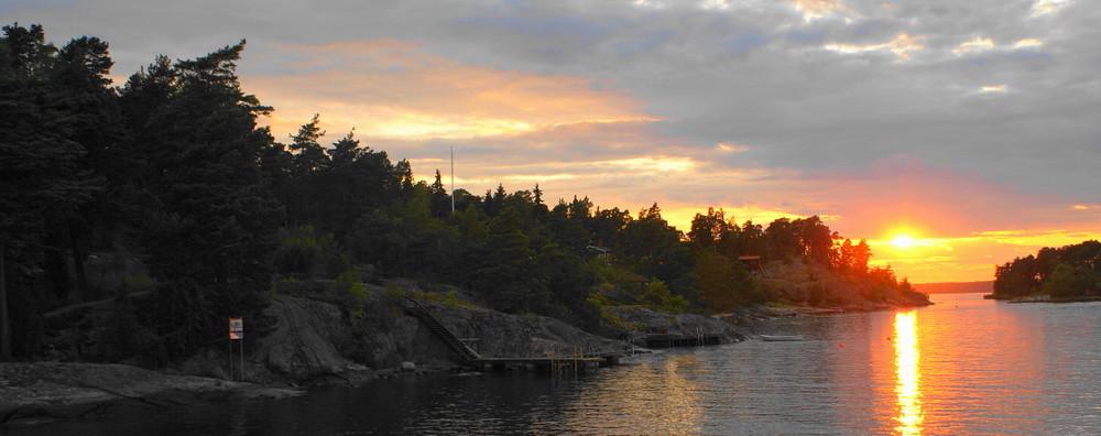 [...archipelago sunset...]