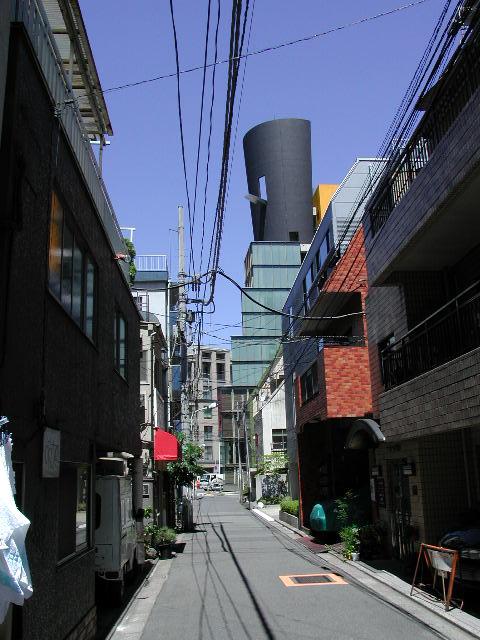 Architecture au coin de la rue
