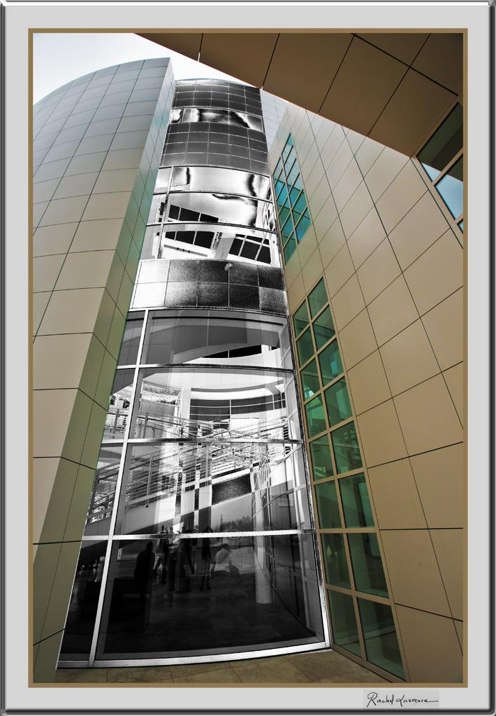 Architecture musée du Getty Center Los Angeles