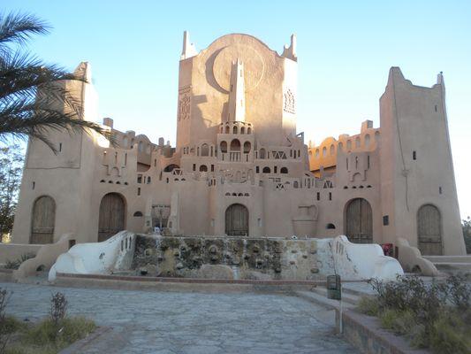 Architecture traditionnelle ((Ghardaïa, région du Mzab, Algérie)) !!