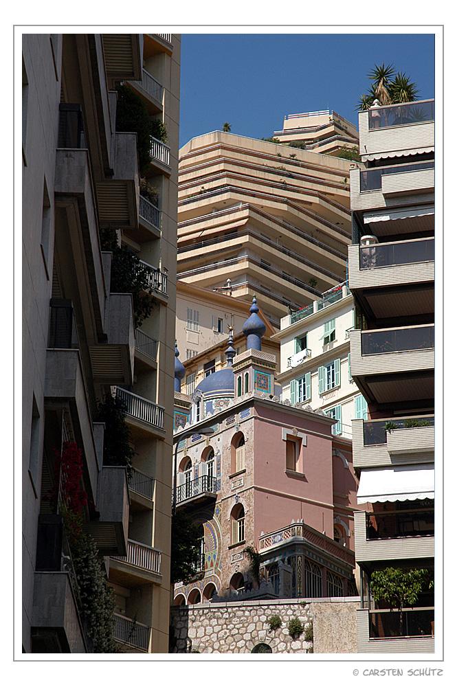 Architektonisches Durcheinander