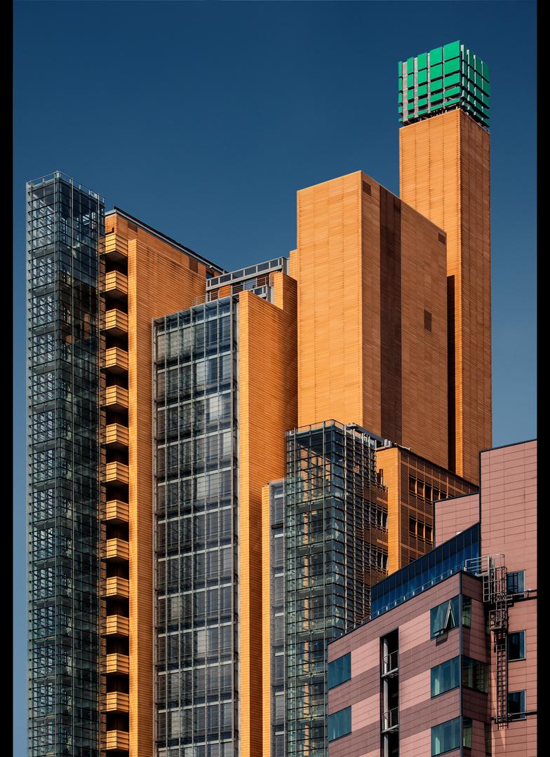 Architektur am Landwehrkanal