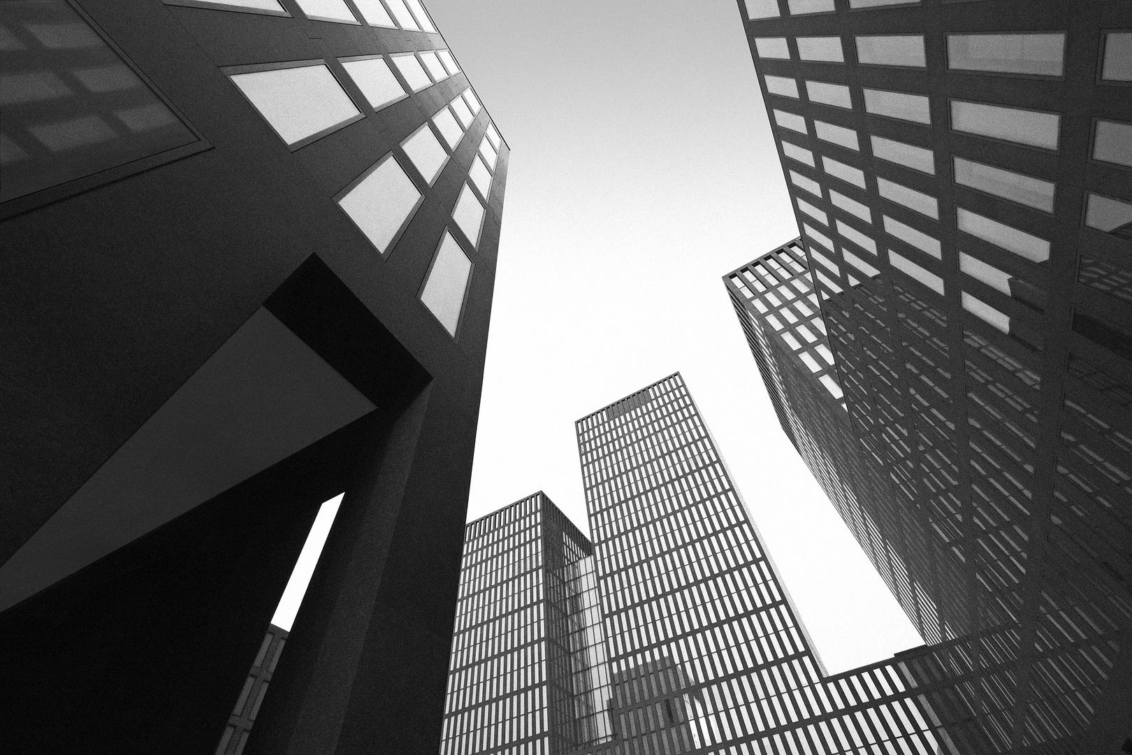 Architektur aus der Froschperspetive