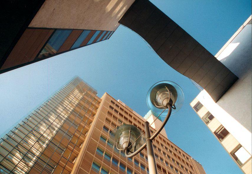 Architektur, die verbindet (Potsdamer Platz)