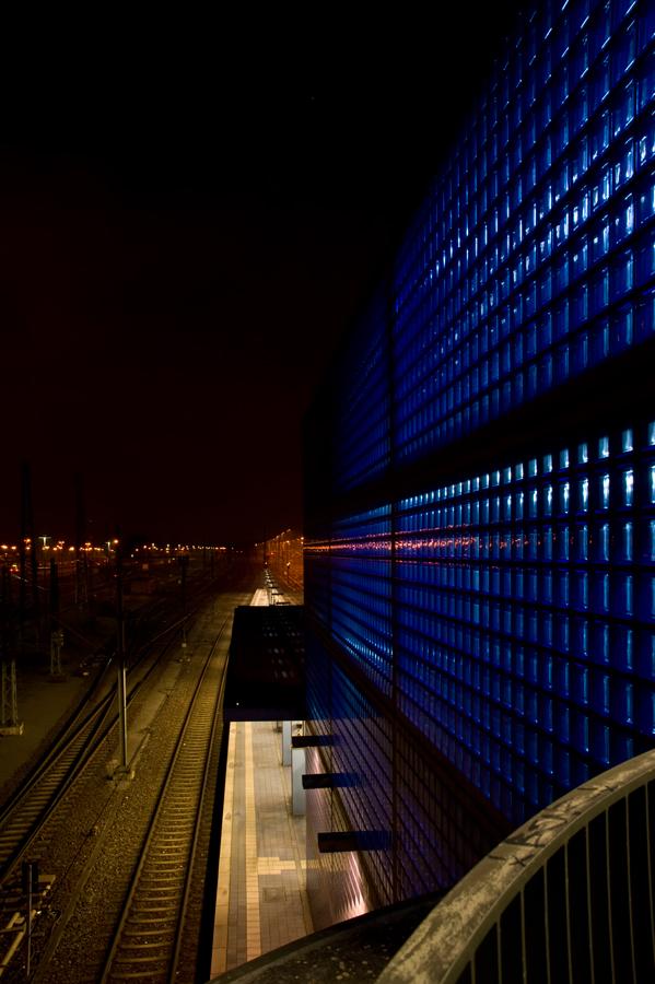 Architektur in blau