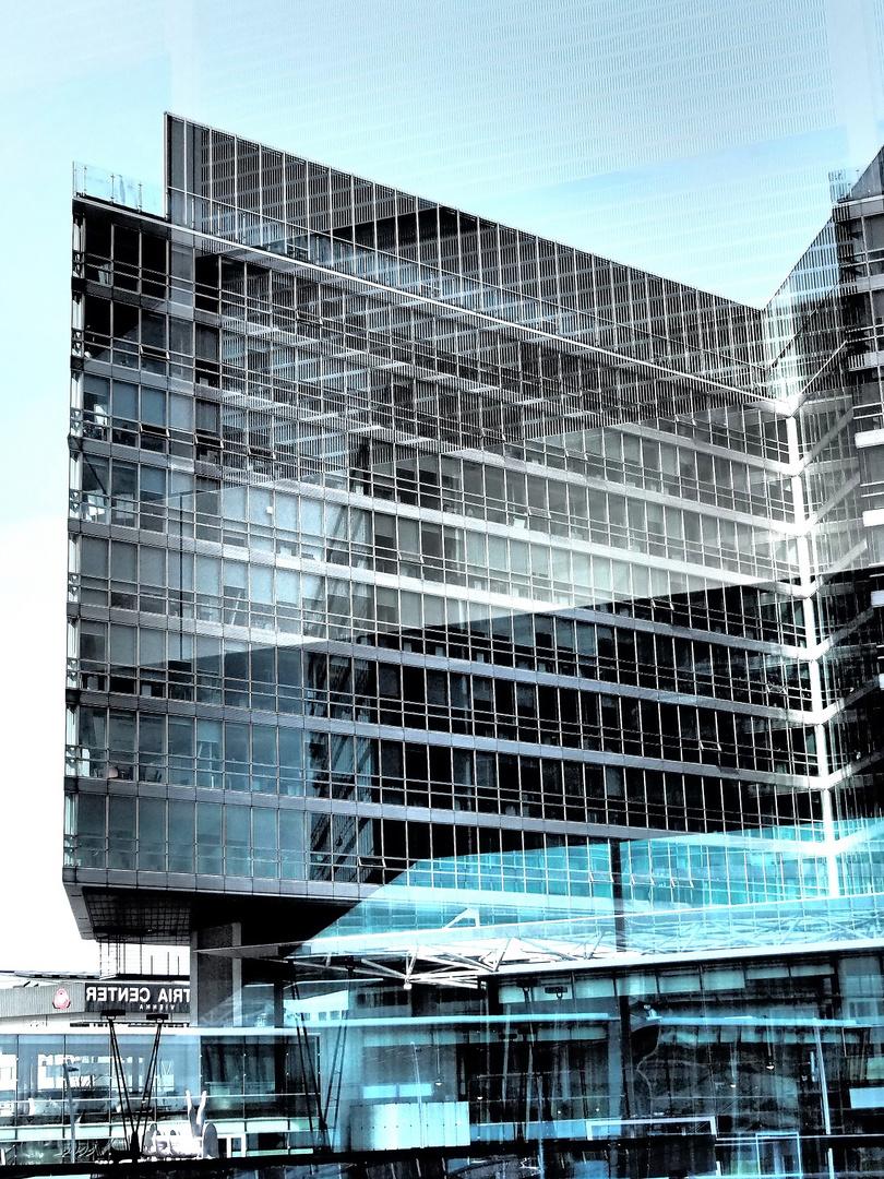 Architektur und Spiegelung