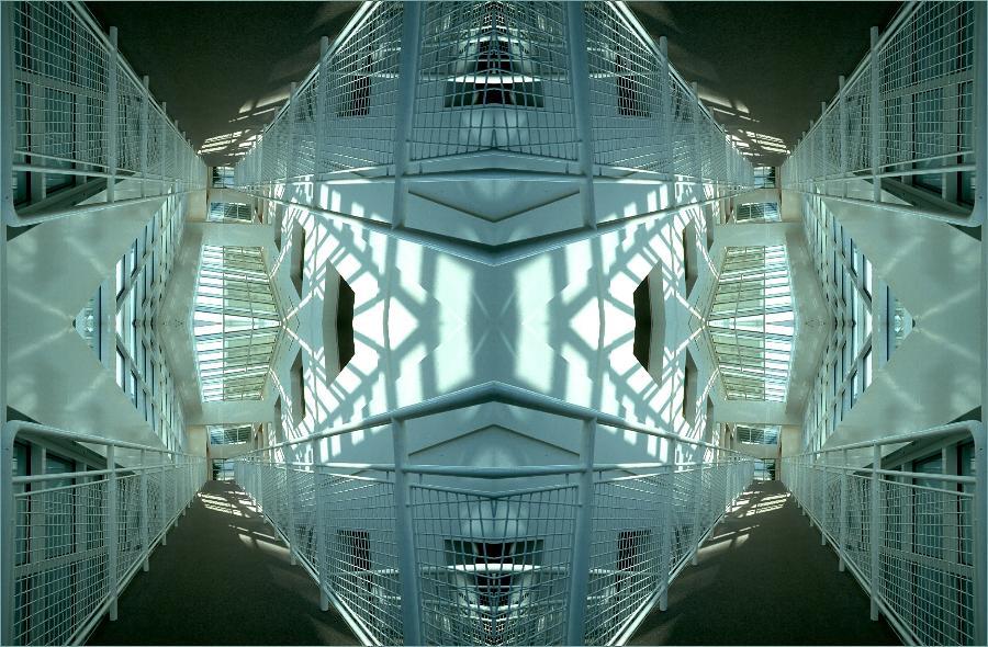 Architektur von Richard Meier .... (mal anders)
